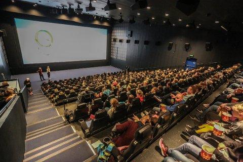 Høyt besøk: Kinoen i byen hadde over 10.000 besøk forrige uke.