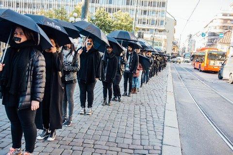 Walk For Freedom: Bildet er for arrangementet i fjor i Oslo