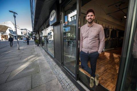 Patrik Arntzen realiserte drømmen om egen klesbutikk i 2015. To år senere måtte han imidlertid legge ned Chaplin.