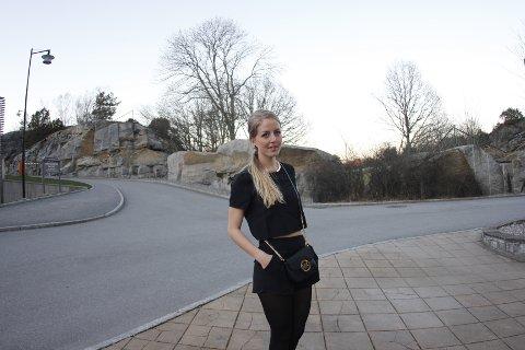 IKKE OK: Marie Brudevold fra Fredrikstad håper flere velger å anmelde uønskede nakenbilder.