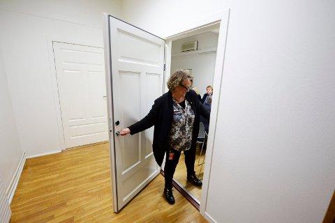 Vedtok å lukke dørene: Formannskapet fikk en ny orientering om de arbeidsrettslige tilnærmingene mot tre ansatte bak lukkede dører. På bildet formannskapsmedlem Camilla Eidsvold (SV).  (Foto: Geir A. Carlsson)