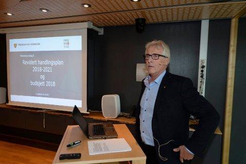 Foreslår økt eiendomsskatt: Rådmann Ole Petter Finess legger opp til en økning av eiendomsskatten for boliger og hytter til  4,2 promille neste år. (Arkivfoto: Geir A. Carlsson)