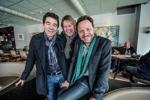 CC Cowboys har også vunnet Plankebærer- prisen. Fra venstre: Agne Sæther, Kyrre Fritzner og Magnus Grønneberg