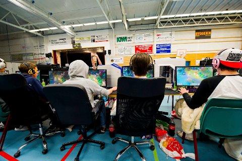 DATA-FERIE: Hvalerhallen kommer til å fylles opp av unge gamere fra og med torsdag.