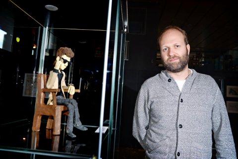 Leder for Fredrikstad Animasjonsfestival. Anders Narverud Moen