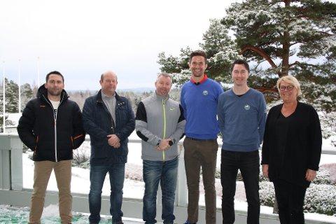 Samarbeider: Jon Bossum fra Huseby & Hankø GK (HHG) Finn Egil Borge (leder HHG), Sander Solberg (pro), Lars Petter Brovold (sportssjef og markedsansvarlig), Ole Kristian Arnesen (leder Onsøy GK) og Yvonne Mejstedt Valle (Onsøy Golfbane).