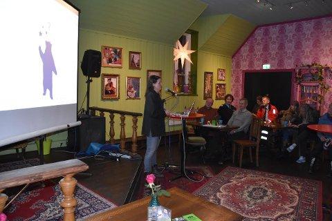 Etterlyser deltakere: Åshild van Nuys, prosjektleder for Kulturnatt Fredrikstad møtte i forrige uke  representanter fra byens kulturliv.