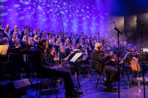 Musical in Concert fylte opp hele Grotta.