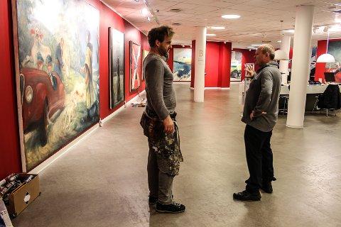 NY UTSTILLING: Vebjørn Sand vil med utstillingen «Guernica - et vendepunkt» rette oppmerksomheten mot individene som fikk sine liv, og sin by, ødelagt 26. april 1937.