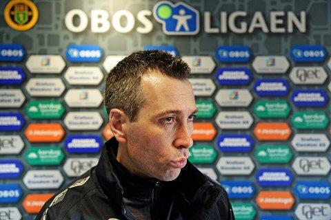 FERDIG: Andrea Loberto valgte å trekke seg fra trenerjobben i FFK fredag.