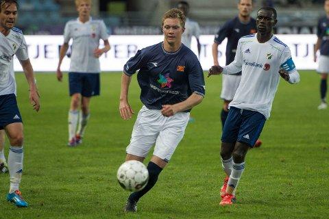 Pål Fjelde har trent med FFK i et par dager. Her fra tiden i Viking.