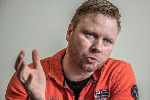 Hvem bestemmer? Øivind Sander mener klubber har blitt ødelagt av rike onkler. Han stiller spørsmål om hvem som bestemmer i FFK til «styret og ledelsen». På bildet: styreleder Jostein Lunde.