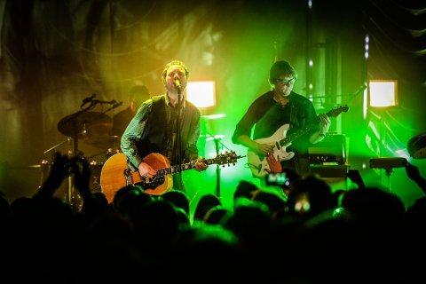 Sist ut: Byens rockere avslutter sin sommerturné med byfestkonserten 9. september.