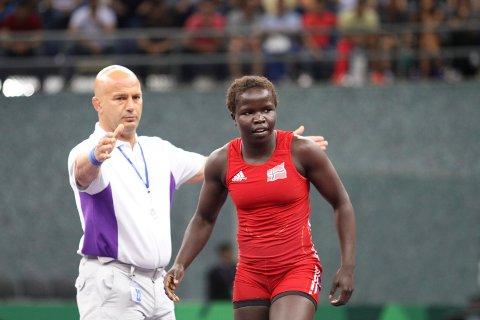 5. plass: Grace Bullen tapte bronsefinalen og ble dermed nummer fem.