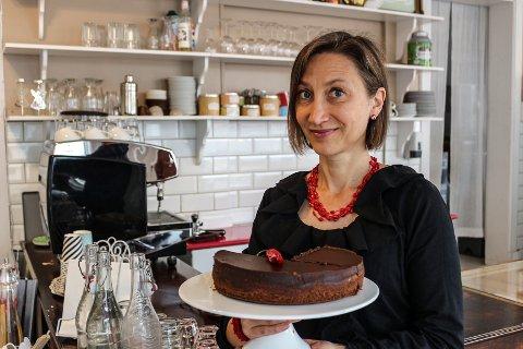 Mylene Abribat har bestemt seg for å selge Café Cicignon.