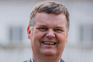 Håkon Borch, førstekandidat for Miljøpartiet De Grønne i Østfold.
