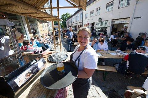 Rekordår: Camilla Olsen er strålende fornøyd med fjorårets drift på Mormors café.