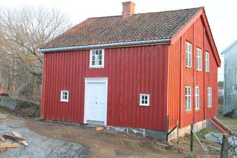 Fokusområde verneverdige bygg: Gamle Brekke skole fra 1849 har gjennomgått omfattende restaurering.