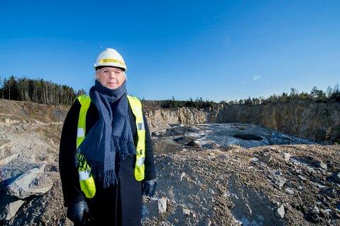 Tydelig: Anita Vik har blant annet vært tydelig i sin kritikk av rådmannens håndtering av deponisaken i Borge. Hun fremstår nå som en tydelig opposisjonsrøst i Fredrikstad-politikken, mener FBs Jon Jacobsen.