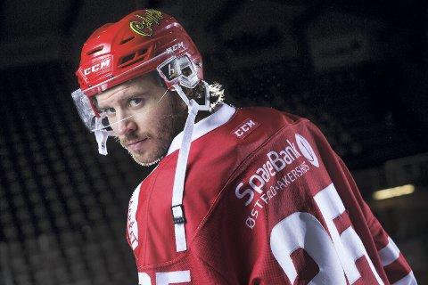KLAR TIL DYST: Som ekte Manglerud-gutt er alltid møtene mot Vålerenga spesielle for Joacim Sunelius. Foto: Sverre Jarild