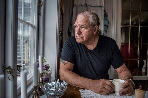 Sorg og fortvilelse: Per Simble forstår ikke hvordan sykehuset ikke klarte å finne ut hva som var galt med kona hans før hun døde.