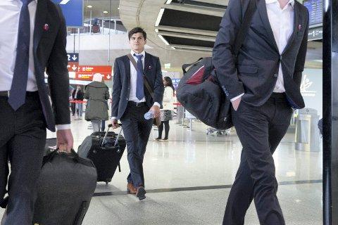 PÅ FLYTTFOT: Tarik Elyounoussi har tatt med seg flyttelasset til Aserbajdsjan, hvor han nå starter sitt nye fotballeventyr i Qarabag. Foto: Håkon Mosvold Larsen