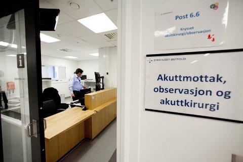 Startproblemer: Akuttmottaket har hatt innkjøringsproblemer. Leif B. Skarpeid mener det vil bli mye verre når mottaket også skal ta hånd om pasienter fra Follo-regionen.
