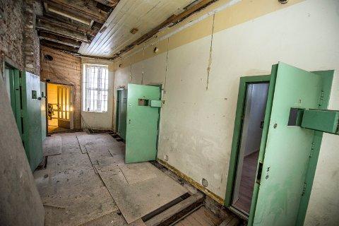 BLIR SPILL: Tre av de gamle cellene i fengselet i Gamlebyen blir escape rooms. Oppgaven er enkel; bryt deg ut av fengselet.