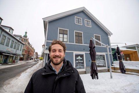 ÅPNER I APRIL: Brian Kovary er grunnlegger av tacokjeden Los Tacos, og nå kommer han med sitt konsept til Fredrikstad.