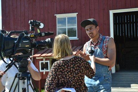 """Det var Stian Sand (bildet) som vant søndagens tvekamp - og Aune Sand fikk bare én uke inne på """"Farmen kjendis""""."""