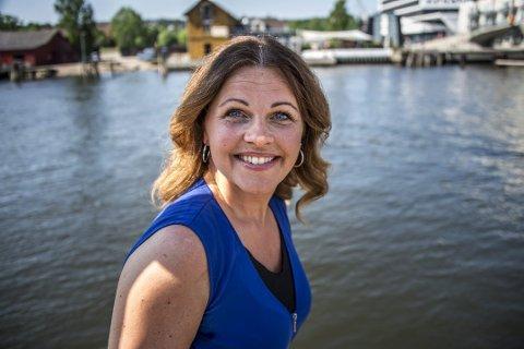 EVIG UNG: Renate Gjerløw Larsen blir 40 år. - Men når jeg snakker med 20-åringen føler jeg fortsatt at vi er jevnaldrende...
