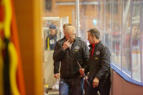 Frustrerende: Bengt-Åke Gustafsson kan heller ikke i kveld stille med sitt sterkeste lag.