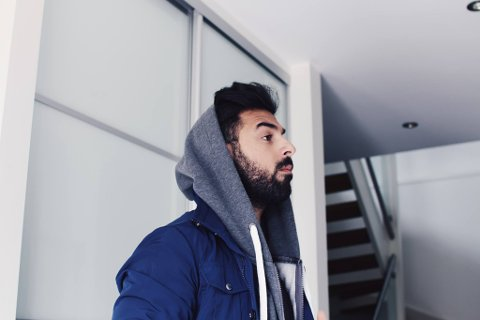 Ung millionær: Dyar Al-Ashtari (23) har bygd seg en solid karriere i Fredrikstad. I fjor tjente han 5,5 millioner kroner. Han har en formue på nesten 20 millioner.
