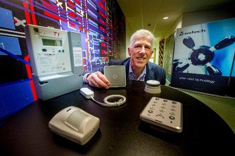 Konkurs: E2U Systems klarte ikke å opprettholde driften lenger. Bjørn Svendsen var daglig leder fra oppstarten i 2016 og frem til tirsdag. Da var konkursen et faktum.
