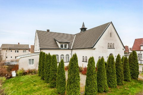 Drømmer du å forvandle et gammelt forsamlingslokale? Nå har du muligheten på Seiersten.
