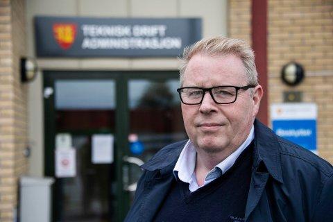 I ny rolle: Atle Holten, som er toppsjef for teknisk drift, blir også stedfortreder for rådmann Nina Tangnæs Grønvold. (Arkivfoto: Geir A. Carlsson)