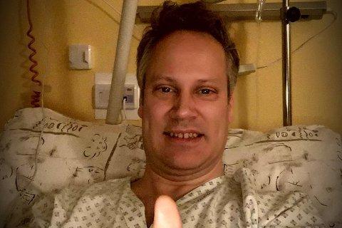Ordfører Jon-Ivar Nygård er ved godt mot etter å ha operert blindtarmen i Tsjekkia tirsdag ettermiddag.