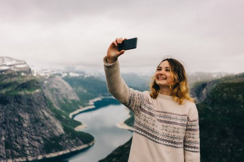 Norges beste på Instagram skal kåres. Foto: Oleh Slobodeniuk