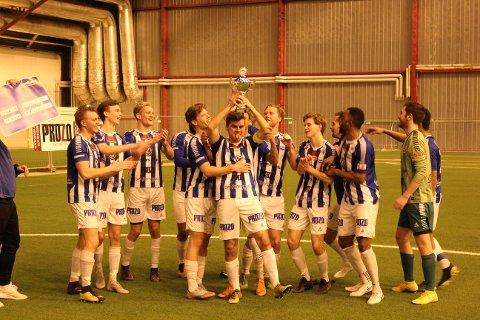VANT: Sarpsborg FK vant Romjulscupen 2018 etter tomålsseier over Råde.