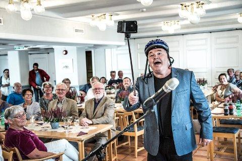 FÅR EGET RÅD: +Huset, her med en Pål Nielsen i storslag i forbindelse med åpningen i 2015, får eget brukerråd.