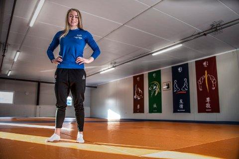 Tilbake for fullt: Madelene Rubinstein skal i aksjon i European Games i Minsk i helgen. Judostjernen er tilbake etter å ha slitt med pusteproblemer. (Geir A. Carlsson)