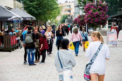 Populær by: – Det er ingen tegn til at veksten i Fredrikstad svekkes selv om veksten i Norge har blitt svakere, heter det i kronikken som er skrevet av prosjektleder og leder av styringsgruppen for Vekst i Fredrikstad.