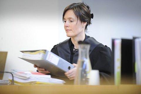 TAPTE: Mannens forsvarsadvokat Helene Elness. Billdet er tatt i forbindelse med en annen sak.