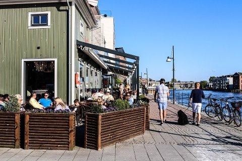 Utevær: Blå himmel er værvarslet for de enste dagene i Fredrikstad, Råde og Hvaler.