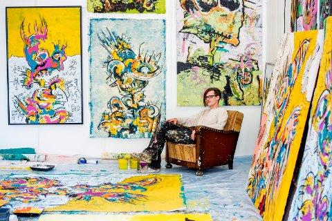 SELGER I USA: Stian Borgen har akkurat kommet hjem fra Florida, der han har hatt tre utstillinger.