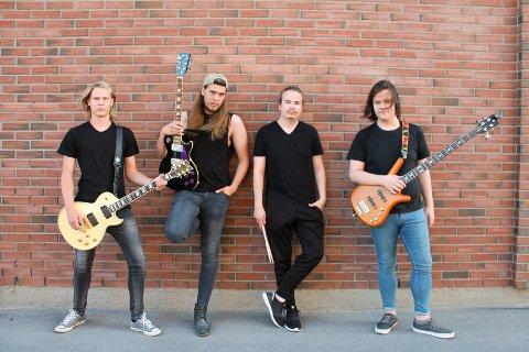 Chain Home: Morten Haugen, William Johansen, Amund Johansen og Fredrik Olsson.