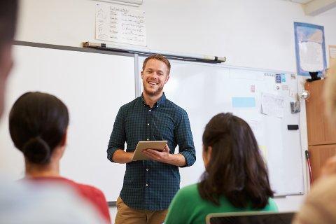 UNGE LÆRERE: Ny statistikk viser alderssammensetningen blant lærere i grunnskolen i alle kommuner. Fredrikstad har en ganske lav andel unge lærere.