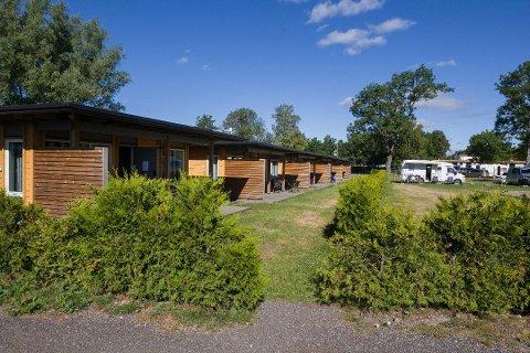Flere planer: Bøckmann-konsernet eier Fredrikstad Motell og Camping, med hytter og plasser for bobiler og campingvogner. Økt turiststrøm til byen gir behov for større campingplass, mener de.
