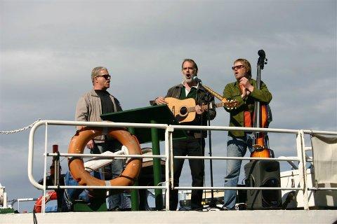 TOPP STEMNING: Foghorn feirer 25 år med to konserter på fullriggeren Najaden på Isegran til helgen.
