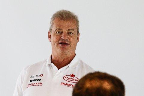 POSITIV: Bengt-Åke Gustafsson ønsker ikke å svartemale situasjonen til Stjernen.